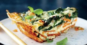 Read more about the article Spinach and Feta Quiche with Sweet Potato Crust