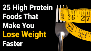 Read more about the article 25 High Protein Foods That Make You Lose Weight Faster