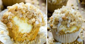Read more about the article Carrot Cake Muffins Recipe With Cheesecake Fillings