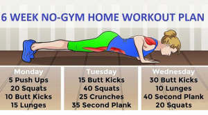 Read more about the article 6 Week At Home Workout Plan For Busy Mothers With No Time For The Gym
