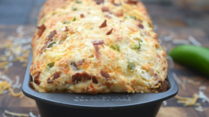 Read more about the article Bacon Cheese Jalapeno Quick Bread Recipe