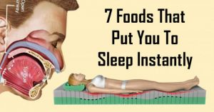 Read more about the article 7 Foods That Put You To Sleep Instantly