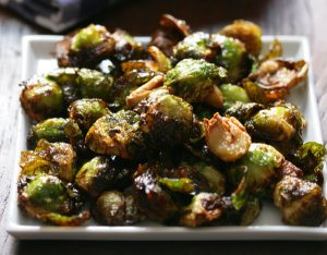 Read more about the article Roasted Brussels Sprouts With Garlic Recipe
