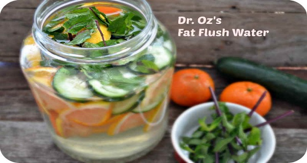 You are currently viewing One Drink Recipe that Flushes Fat Away by Dr. Oz